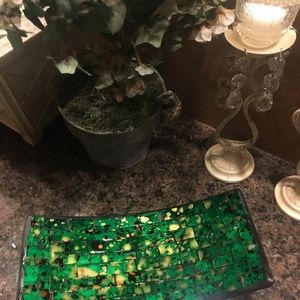 Other - New Gorgeous Hand made Mosaic Tray.